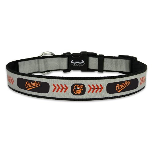 Mlb Baltimore Orioles Charm (MLB Baltimore Orioles Baseball Pet Collar, Medium, Reflective)