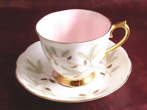 Royal Albert teacup and saucer - pattern is Braemar