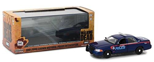 - Greenlight 1:43 The Walking Dead (2010-Current TV Series) -2001 Ford Crown Victoria Interceptor Atlanta Police (86510) Die-Cast Vehicle