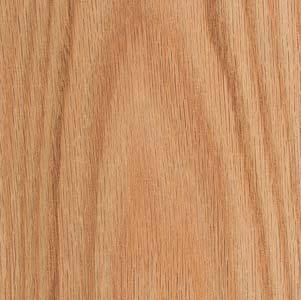 Wood Veneer, Oak, Red Flat Cut, 2 x 8, 10 mil Paper Backer