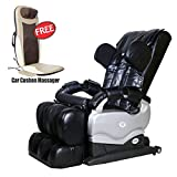 Telebrands-Hbn Massage Chair Zero Gravity Full Body Massage with Deluxe Massage Cushion Combo
