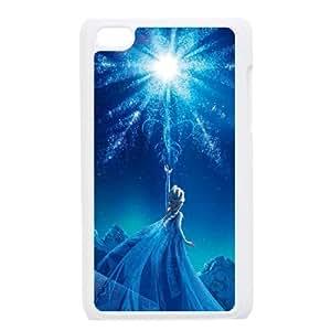 Unique Design Protective Hard Plastic Case for Ipod Touch 4 - Frozen cheap case at CHXTT-C