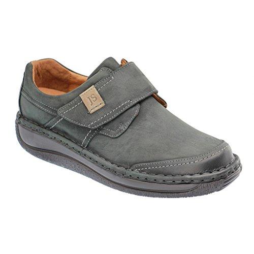 Josef Seibel Hombre Zapatos planos Garrett 05 negro, (SCHWARZ/GRUEN) 44436994/811