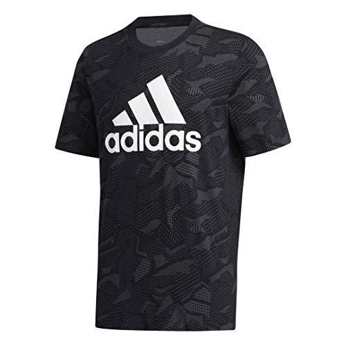 adidas Men's Essentials Allover Print Tee 4