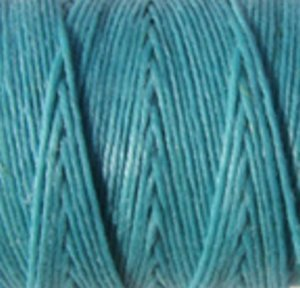 (UnCommon Artistry Crawford Waxed Irish Linen- Sold per 10 Yards of 4-ply (Turquoise))