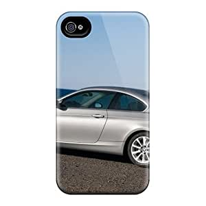 Premium Naa4472ULGU Case With Scratch-resistant/ Bmw 335i Coupe Side View Case Cover For Iphone 4/4s