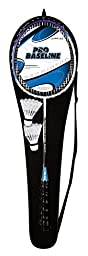 2 Person Badminton Racquet & Shuttlecock Set