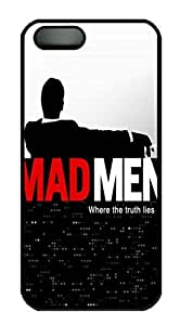 Mad Men Movie Protective Hard Plastic Back Fits Cover Case for iphone 5 iphone 5s -1122024