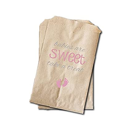 Amazon Baby Feet Candy Bags Girls Baby Shower Favor Bags