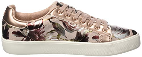 1 powder Tamaris Sneakers Flower 678 678 22 Basses Femme 23774 Rose 1 OqTTx5fz