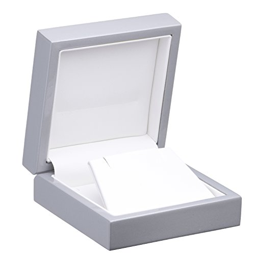 Allure Imperial Earring/Pendant Box, Silver (Silver Pendants Finish Imperial)