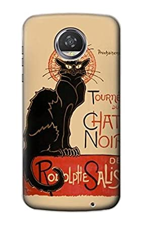 Amazon.com: r2739 Chat Noir gato negro Vintage funda carcasa ...