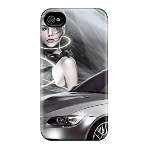 Fly Angel Case Cover Iphone 4/4s Protective Case Bmw by runtopwell