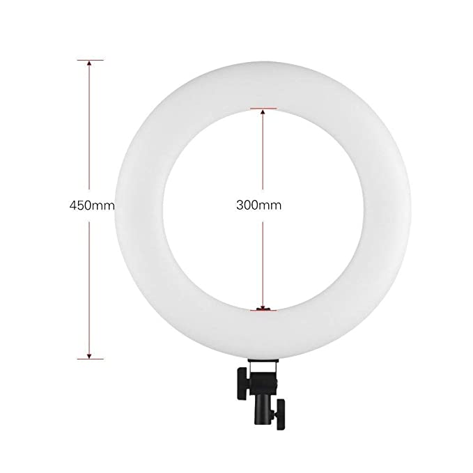 Amazon Com Viltrox Vl 600t 1848cm 45w Led Ring Light 3300k