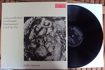 Streichquartett op. 132. Suske Quartett. Black Label Stereo