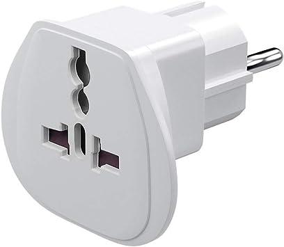Neuftech 5x Universal Reisestecker Adapter Travel Plug EU Stecker europa Deutschland auf UK USA,China,Kanada,Japan,Thailand,Mexiko,Philippinen