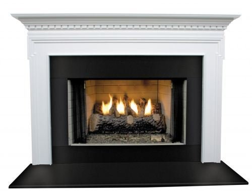 Mt. Vernon MDF Primed Fireplace Mantel Surround Shelf Length: 36