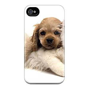 New BXM26870jYbm Cute Cat Dog Skin Cases Covers Shatterproof Cases For Iphone 6