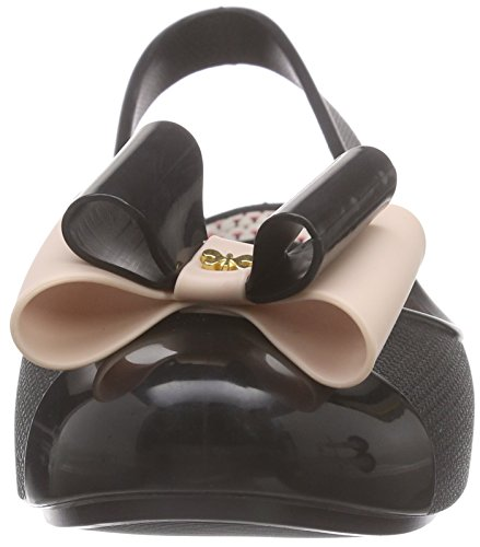 Zaxy Gift Fem - Sandalias de Talón Abierto Mujer Negro - Schwarz (black 8313)