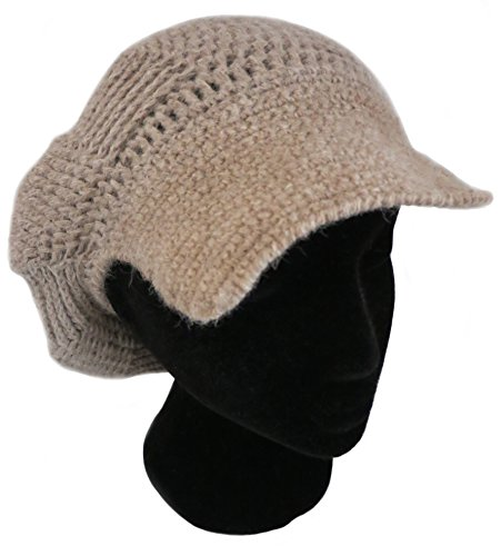 CUSTOM MADE ORDER IN ANY COLOR - Knitted PURE ALPACA Beret Cap by BARBERY Alpaca Accessories