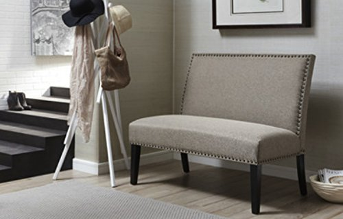 The Best Vintage Banquette Bench Seating Upholstered On A Benches Enchanted Home For Enterance Elegance Entry Entrance Waiting Room Living Entryway Office Wood Wooden Settee Bodysolid Seating Art Seat