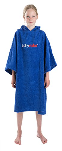 owel Changing Robe - Short Sleeve Towelling Change Poncho/Dry Robe One Size Royal Blue ()