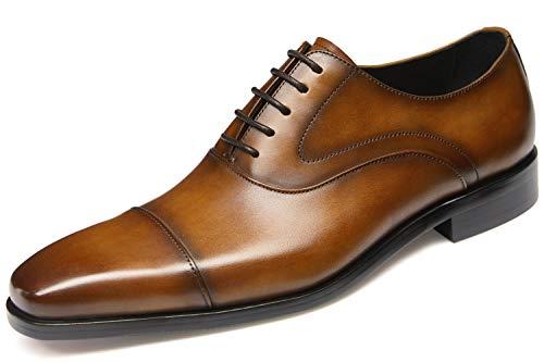 Dark Brown Oxford - Men's Dress Shoes,Oxford Shoes,Black Shoes,Brown Shoes,Men's Shoes,Casual Shoes(12US/Brown