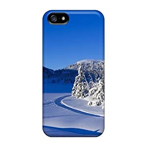 Case Cover Protector For Iphone 5/5s Snowy Winter Case