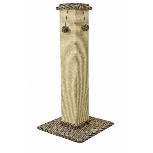 Go Pet Club Cat Tree Furniture 35 in. High Obelisk - Two Tone