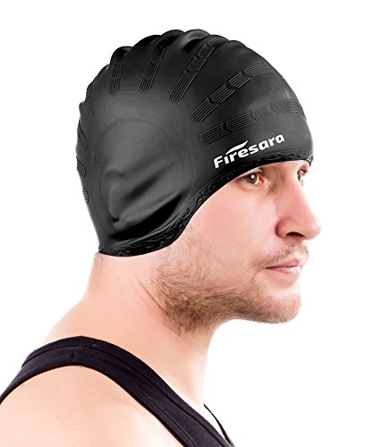 c15ed37c0142 Firesara Swimming Cap for Long Hair