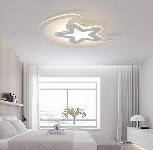 Camera da letto moderno lampadario luna stella luce da ...