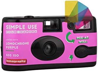 Lomography Simple Use Camera, Lomochrome Purple (suc100lc) 41 2Beo5d2IdL