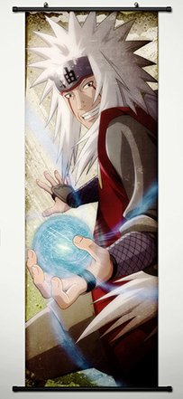 Wall Scroll Poster Fabric Painting For Anime Naruto Jiraiya