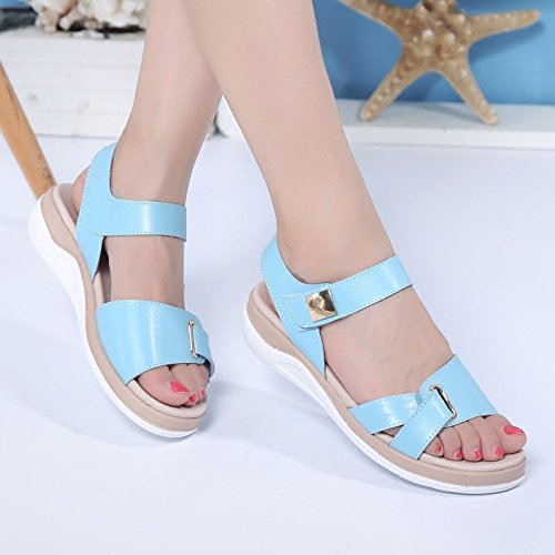 Bottom Non WXMDDN Bottom Shoes Beige Sandals Casual Slip Girls Summer Shoes Students Soft Flat qqtZ4