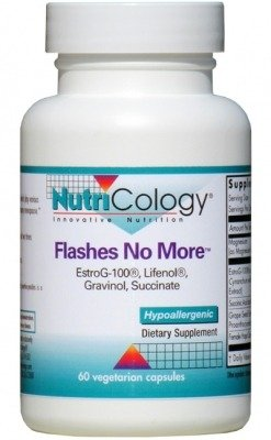 Nutricology Flashes No More Capsules, 60 Count