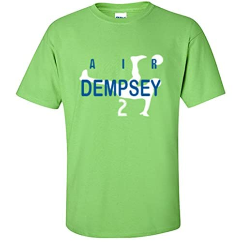 "The Silo Green Seattle ""AIR DEMPSEY"" T-Shirt free shipping"