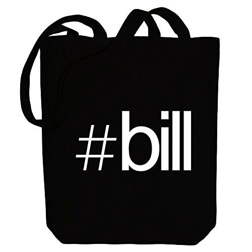 Idakoos Hashtag Bill - Männliche Namen - Bereich für Taschen