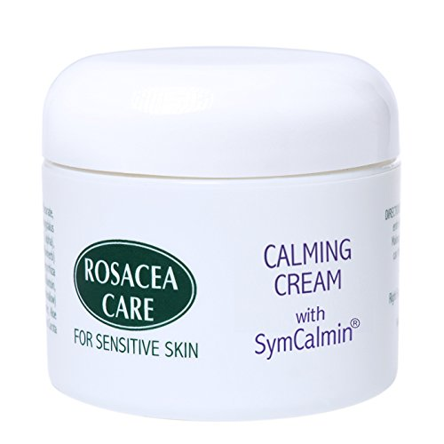 CALMING CREAM WITH SYMCALMIN - Nourishing, anti-aging, effective for rosacea (2 Oz)