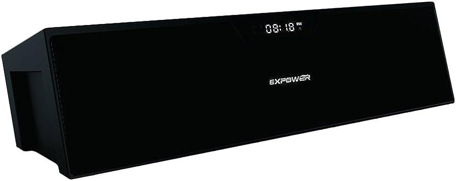 Expower 10 W Bluetooth Altavoz estéreo Altavoces portátiles con ...