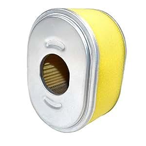 HQRP Filtro de aire elemento Combo para Honda EG1400EG1400X EG1400X K1ez1400Generador/Honda F401F401K1F401K2rottotiller + HQRP posavasos