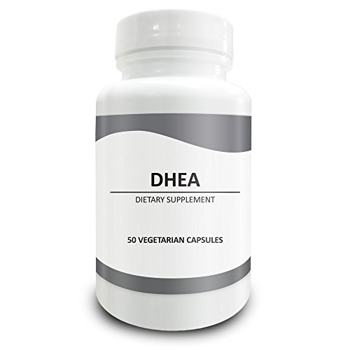Pure Science DHEA 100mg (Dehydroepiandrosterone) - DHEA Supplement Regulates Testosterone & Estrogen Levels, Improves Blood Circulation & Body Functions, Improves Energy – 50 Vegetarian Capsules