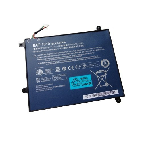BAT-1010 New Genuine Acer Iconia Tab A500 Tablet Battery BAT-1010