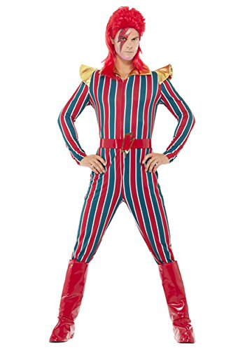 Smiffy's Men's Space Superstar Costume, Multi, (Superstar Costumes)