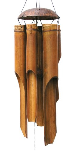 Cohasset 134 Large Plain Antique Wind - Chimes Wind Bamboo Chime