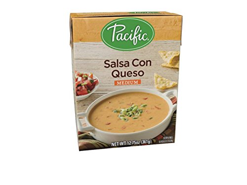 Pacific Foods Salsa Con Queso, 12.75-Ounces, 12-Pack by Pacific Foods