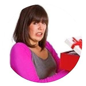 alfombrilla de ratón Mujer con mal regalo - ronda - 20cm