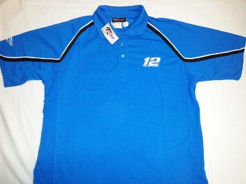 Team Caliber New!! Men's Penske Racing Polo Shirt - Alltel Racing - #12 Size ()