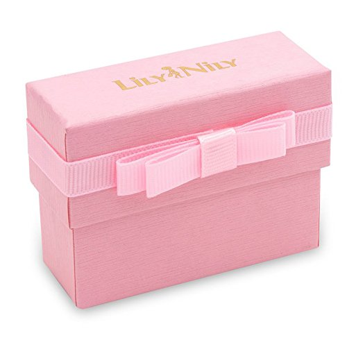 Lily Nily Girls Pink Flower Link Bracelet