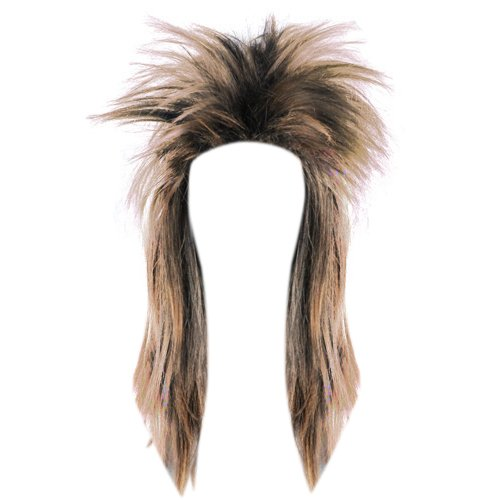[Topro Glam Punk Rocker Chick Tina Turner Carnival Wig Fancy Dress Color Brown] (Tina Turner Wigs)