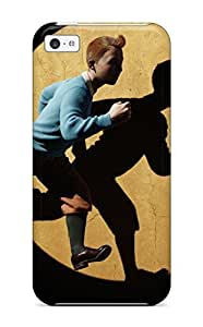 fenglinlinBest For Iphone Protective Case, High Quality For ipod touch 4 Tintin And Snowy In The Adventures Of Tintin Skin Case Cover 2400351K51927741